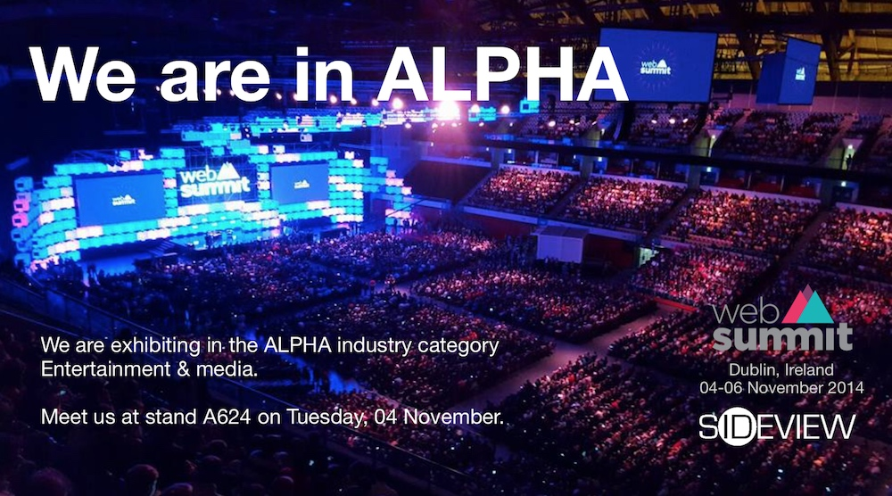WebSummit ALPHA flyer