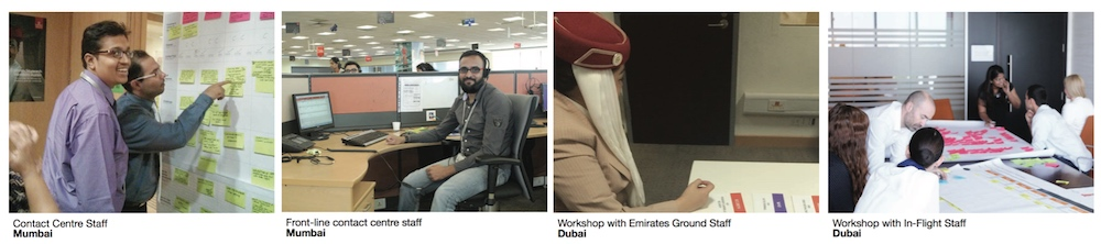 Emirates staff involved in research