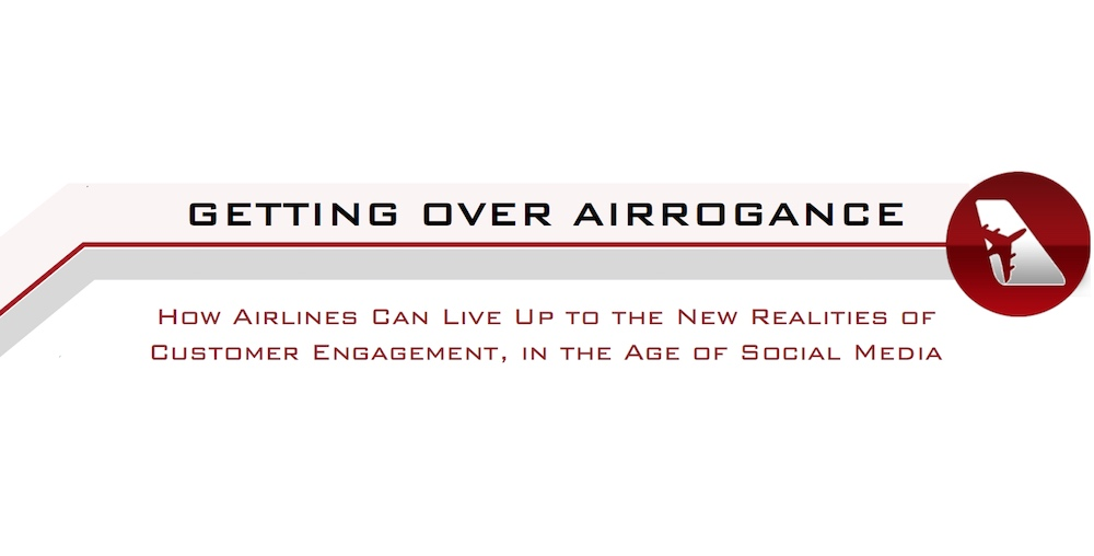 Airrogance white paper cover