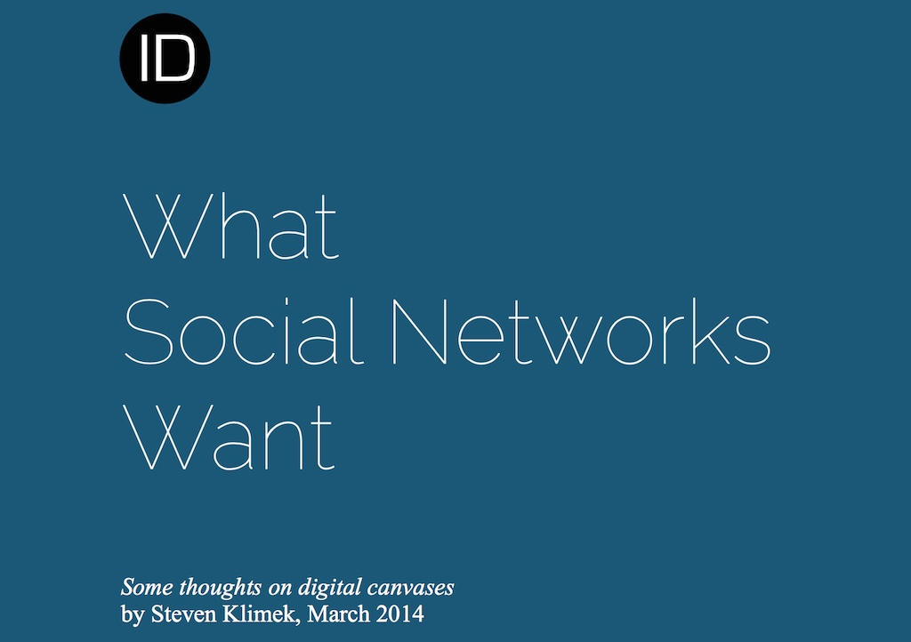What Social Networks Want whitepaper cover