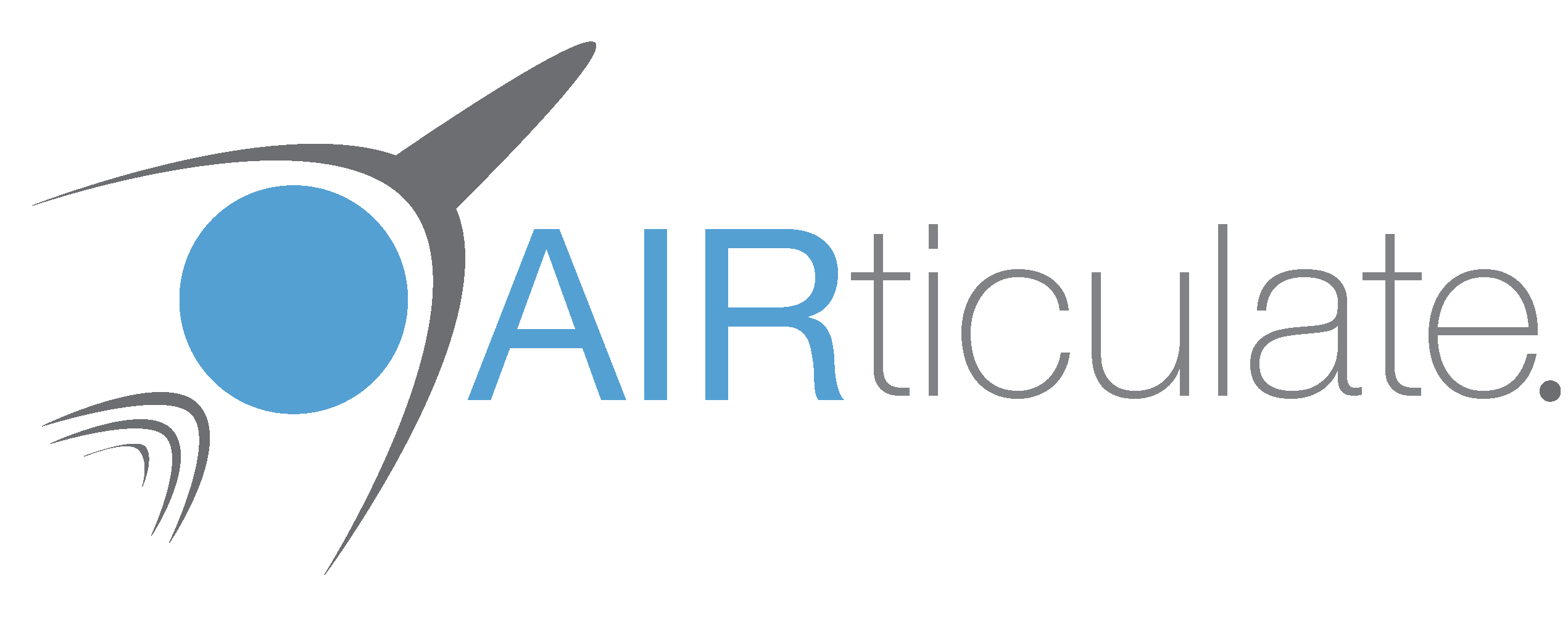 AIRticulate logo design