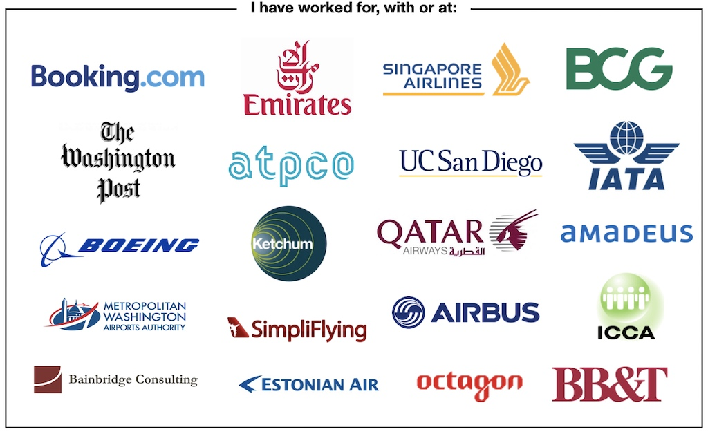 List of companies I've worked with